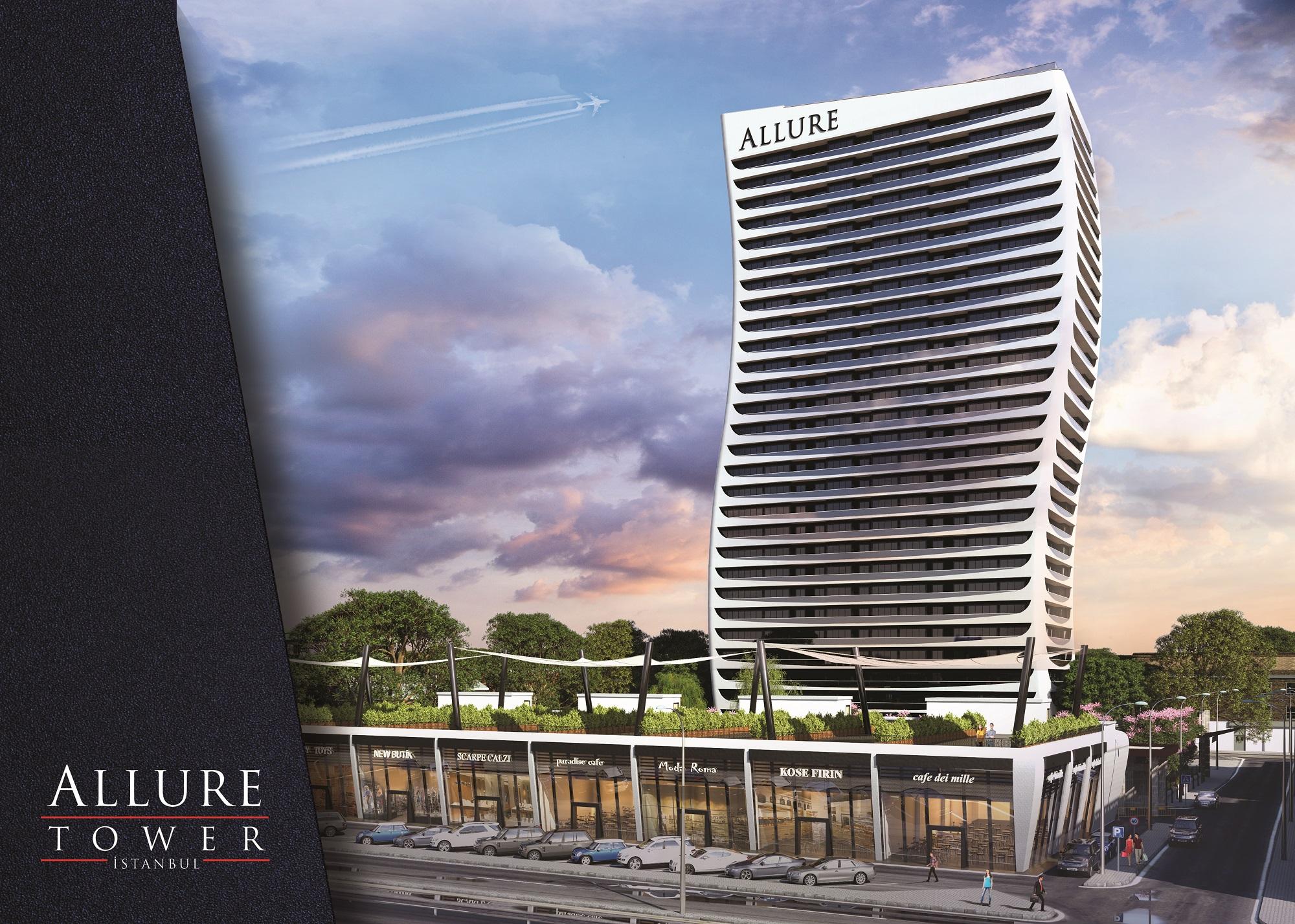 Allure Tower'da 255 bin TL'ye Ev !